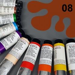 Profesionální olejová barva UMTON, 60 ml, odstín puzzuola. Kvalitní, odolné, světlostálé pigmenty.