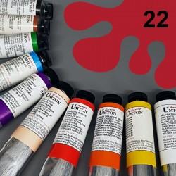 Profesionální olejová barva UMTON, 60 ml, odstín kraplak tmavý. Kvalitní, odolné, světlostálé pigmenty.
