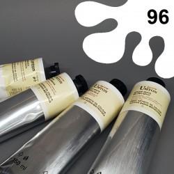 Profesionální olejová barva UMTON, 150 ml, odstín polární bílá. Kvalitní, odolné, světlostálé pigmenty.
