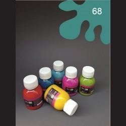 Barva na textil - tyrkysová, 65 ml