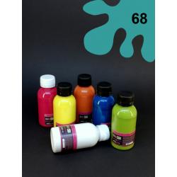Barva na textil - tyrkysová, 110 ml