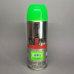 Akrylový neonový sprej Pinty Plus Evolution, 400 ml. Rychleschnoucí, kryvý, univerzální, na dřevo, kov, papír, kámen, plast.