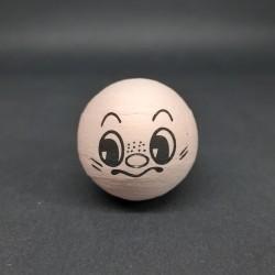 Vat. koule s obličejem, 36 mm, vhodné jako dekorace i pro různá dotvoření