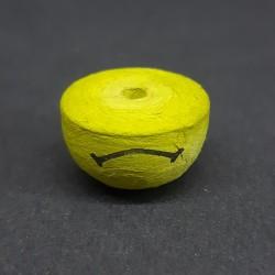 Vatová pusa, 22x15mm, vhodné pro dekoraci a další dotvoření, například figurky nebo loutky
