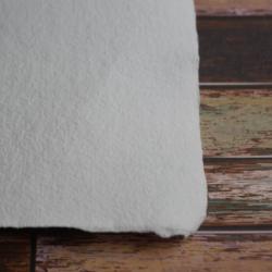 Ruční papír  bílý čistý A4