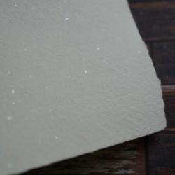 Ruční papír - chamoix slídový, A4, ruční papír a4 vhodný na svatební oznámení
