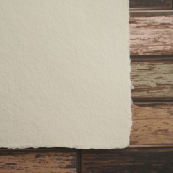 Ruční papír - chamoix hlazený, A4, ruční papír prodej, vhodný i na svatební oznámení, ruční papír a4