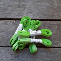 Taftová stuha, světle zelená, 4 mm x 10 m, mašle, vhodné pro dekoraci, dárková balení, scrapbooking a další kreativní tvoření.