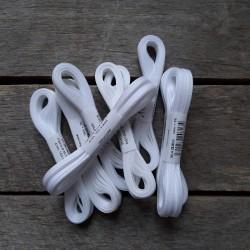 Taftová stuha, bílá, 4 mm x 10 m, mašle, vhodné pro dekoraci, dárková balení, scrapbooking a další kreativní tvoření.