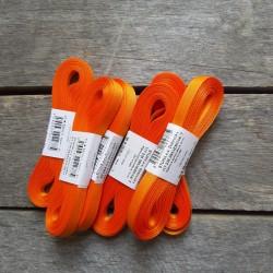 Taftová stuha, oranžová, 9 mm x 10 m, mašle, vhodné pro dekoraci, dárková balení, scrapbooking a další kreativní tvoření.