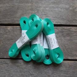 Taftová stuha, mentolově zelená, 9 mm x 10 m, mašle, vhodné pro dekoraci, dárková balení, scrapbooking a další kreativní tvoření