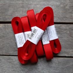 Taftová stuha, červená, 15 mm x 10 m, mašle, vhodné pro dekoraci, dárková balení, scrapbooking a další kreativní tvoření.