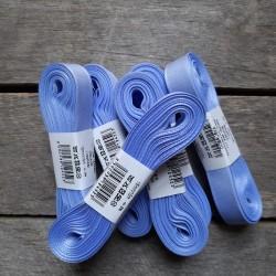 Taftová stuha, bledě modrá, 15 mm x 10 m, mašle, vhodné pro dekoraci, dárková balení, scrapbooking a další kreativní tvoření.