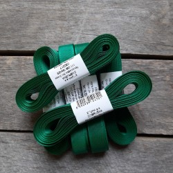 Taftová stuha, lahvově zelená, 15 mm x 10 m, mašle, vhodné pro dekoraci, dárková balení, scrapbooking a další kreativní tvoření.
