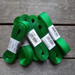 Taftová stuha, trávově zelená, 15 mm x 10 m, mašle, vhodné pro dekoraci, dárková balení, scrapbooking a další kreativní tvoření.