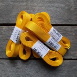 Taftová stuha, žlutá, 15 mm x 10 m, mašle, vhodné pro dekoraci, dárková balení, scrapbooking a další kreativní tvoření.
