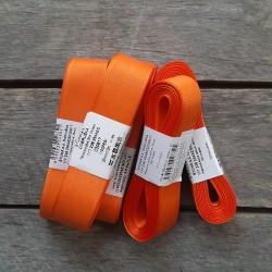 Taftová stuha, oranžová, 25 mm x 10 m, mašle, vhodné pro dekoraci, dárková balení, scrapbooking a další kreativní tvoření.