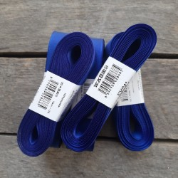 Taftová stuha, královsky modrá, 25 mm x 10 m, mašle, vhodné pro dekoraci, dárková balení, scrapbooking a další kreativní tvoření