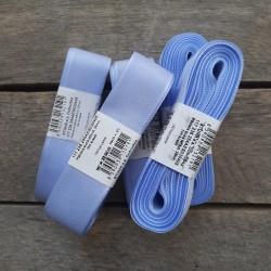 Taftová stuha, bledě modrá, 25 mm x 10 m, mašle, vhodné pro dekoraci, dárková balení, scrapbooking a další kreativní tvoření.