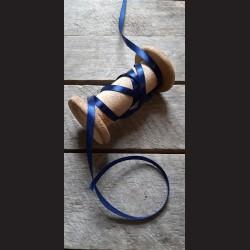 Atlasová stuha, safír. modrá, 6 mm x 32 m, mašle, vhodné pro dekoraci, dárková balení, scrapbooking a další kreativní tvoření.