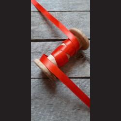 Atlasová stuha, jahodově červená stužka, výhodné balení, vhodná na dekoraci, dárková balení, scrapbooking, 12 mm x 32 m