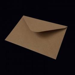 Recyklované obálky, Obálka C6, 16x11,5, vhodné pro běžnou korespondenci, pozvánky, oznámení, blahopřání, scrapbooking, popř. pro