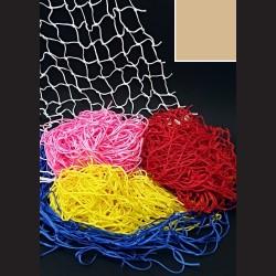 Dekorační síť - hnědá, 1 x 3 m, oko 5 cm, vhodná k dekorativním i praktickým účelům