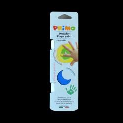 Sada prstových barev Primo, 4x40ml, barvy pro malování prsty papír, lepenku, dřevo, plast. hmoty apod