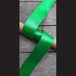 Atlasová stuha, zelená 2, 38mm, mašle, vhodné pro dekoraci, dárková balení, scrapbooking a další kreativní tvoření.