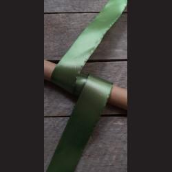 Atlasová stuha, lahvově zelená, 38mm, mašle, vhodné pro dekoraci, dárková balení, scrapbooking a další kreativní tvoření.
