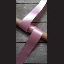 Atlasová stuha, pastel. růžová, 38mm, mašle, vhodné pro dekoraci, dárková balení, scrapbooking a další kreativní tvoření.