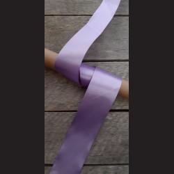 Atlasová stuha, světle fialová, 50mm