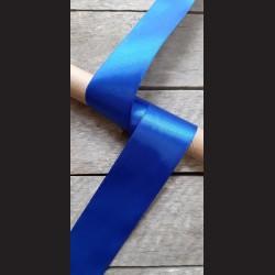 Atlasová stuha, safírová modrá, 50mm