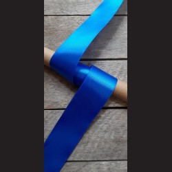Atlasová stuha, královsky modrá, 50mm