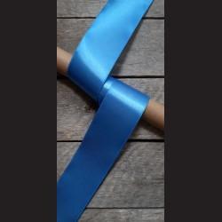 Atlasová stuha, nebesky modrá, 50mm