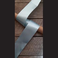 Atlasová stuha, modrá, 50mm
