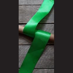 Atlasová stuha, zelená 2, 50mm, mašle, vhodné pro dekoraci, dárková balení, scrapbooking a další kreativní tvoření.