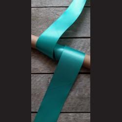 Atlasová stuha, mentolová, 50mm, mašle, vhodné pro dekoraci, dárková balení, scrapbooking a další kreativní tvoření.