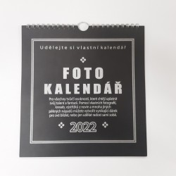 Fotokalendář - černý