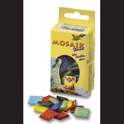 Mozaikové kamínky - mix, 20x20 mm, 70 ks