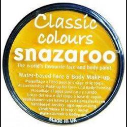 Barva na obličej - žlutá, 18 ml
