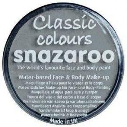 Barva na obličej - šedá, 18 ml