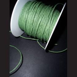 Papírový drátek tmavě zelený