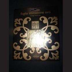 Zlatící fólie, 15 archů