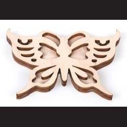 Razítko na textil motýl 1