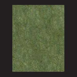 Ruční papír juta zelený