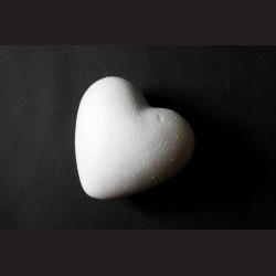 Srdce polystyrenové, 8 x 8 cm