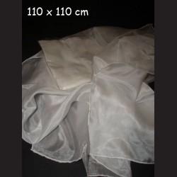Hedvábný šátek ponge, 110 x 110 cm