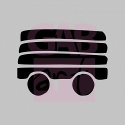 vagon nákladní  - šablona 088
