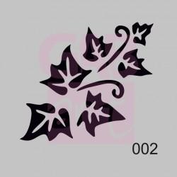 Břečťan  - šablona 002